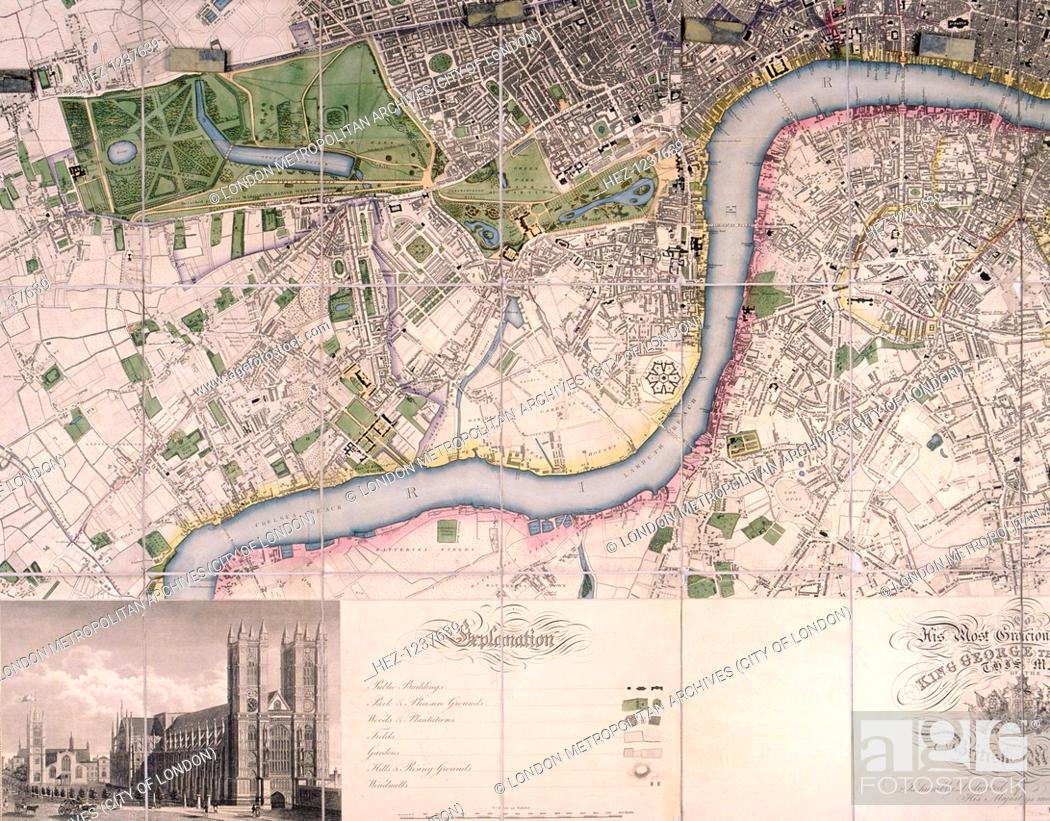 Map Of City Of London.Map Of The City Of London Westminster Southwark And Surrounding