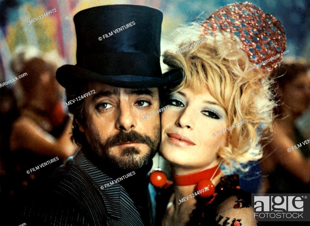 Stock Photo: Giancarlo Giannini & Monica Vitti Characters: Gino Benacio & Tina Candela Film: Midnight Lovers; Pleasures (1975) Director: Marcello Fondato 19 February 1975.