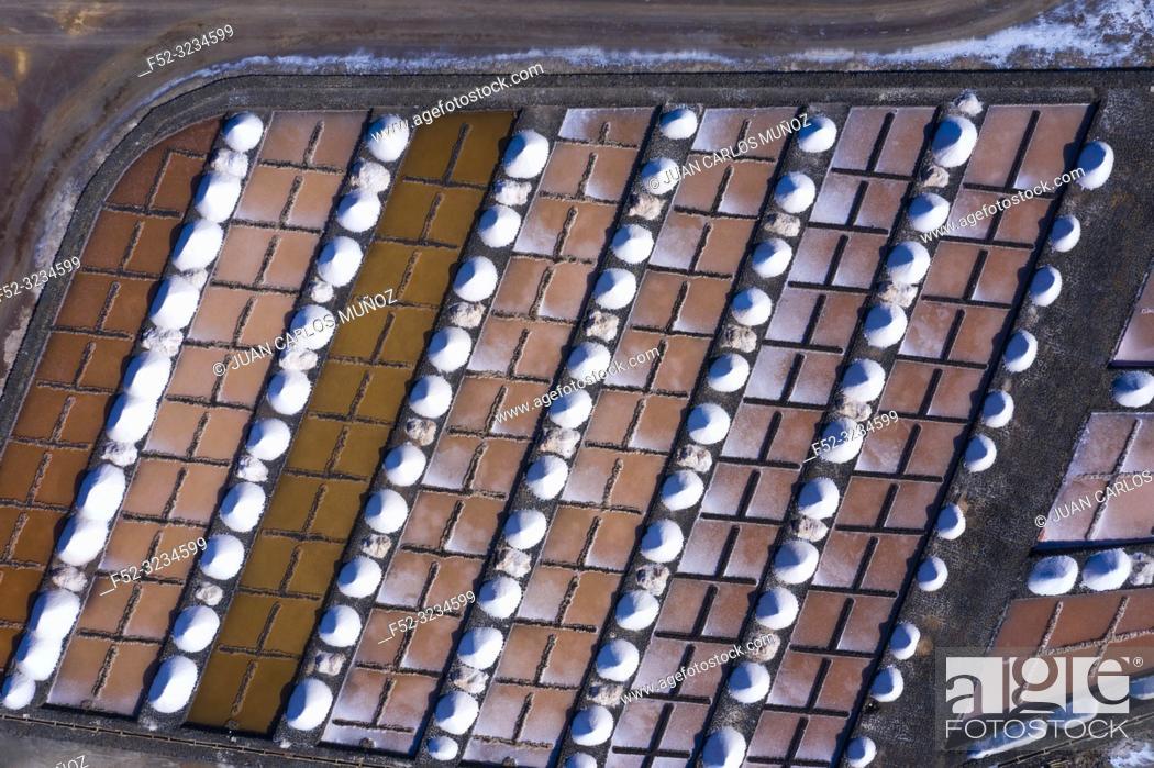 Stock Photo: Salinas de Janubio, La Hoya, Lanzarote Island, Canary Islands, Spain, Europe.