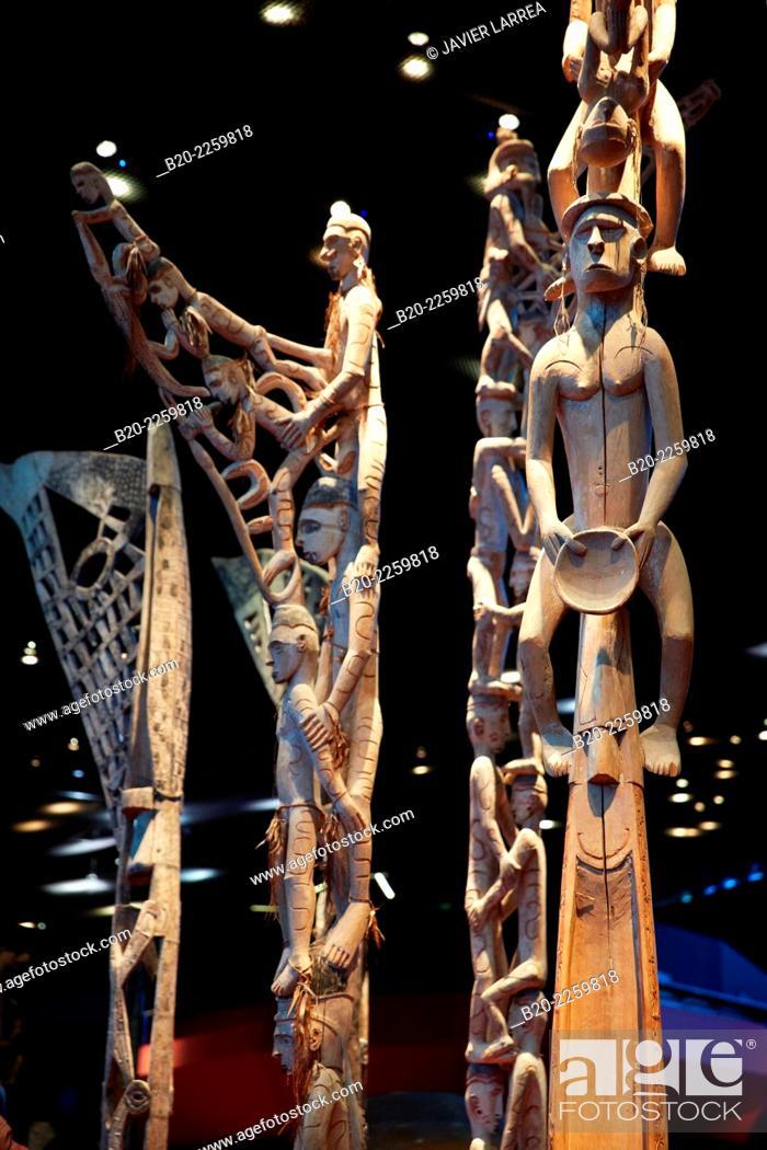 Prestige Poteau Bisj Ancestor Pole Asmat Indonesia S Xx