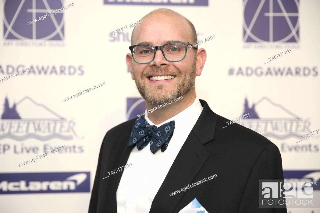 adam rowe arrives at the 24th annual art directors guild excellence in production design awards at stock photo picture and rights managed image pic tac 177031 agefotostock 2
