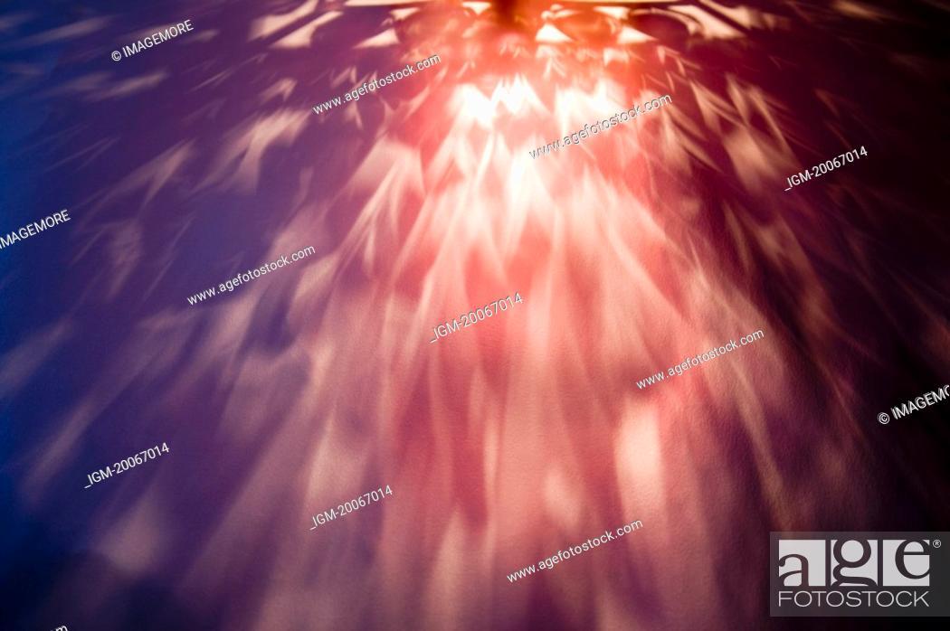 Stock Photo: Illuminated effect.