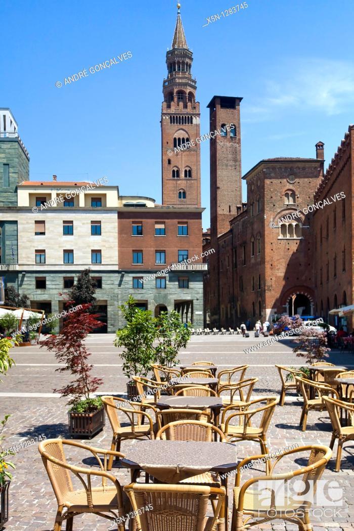 Stock Photo: Cremona, Italy.