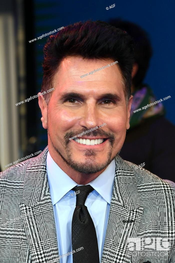Don Diamont Rome Italy 08032018 Stock Photo Picture And