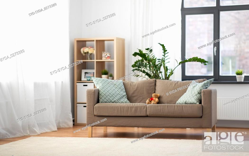 Cushions At Cozy Home Living Room
