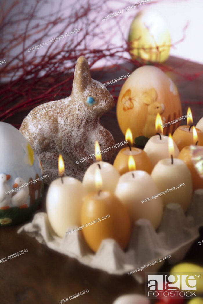 Stock Photo: Easter decoration.