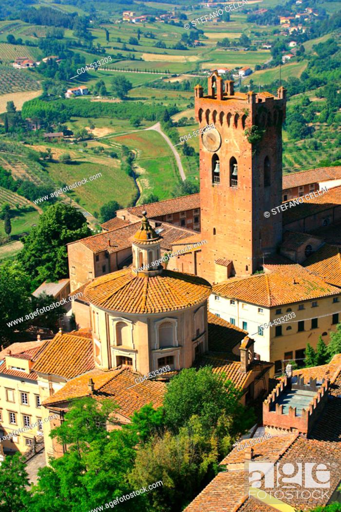 Stock Photo: San Miniato, Pisa province. Italy.