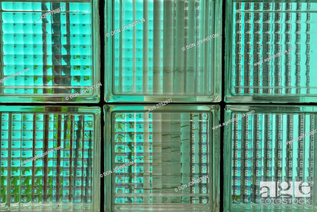 Stock Photo: Street photography in central Havana- bathroom glass, La Habana (Havana), Habana, Cuba.
