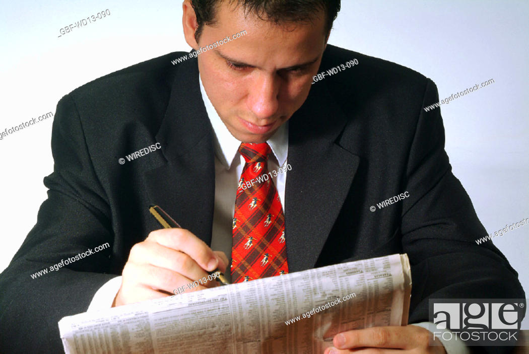 Stock Photo: Businesseman, man executive, Brazil.