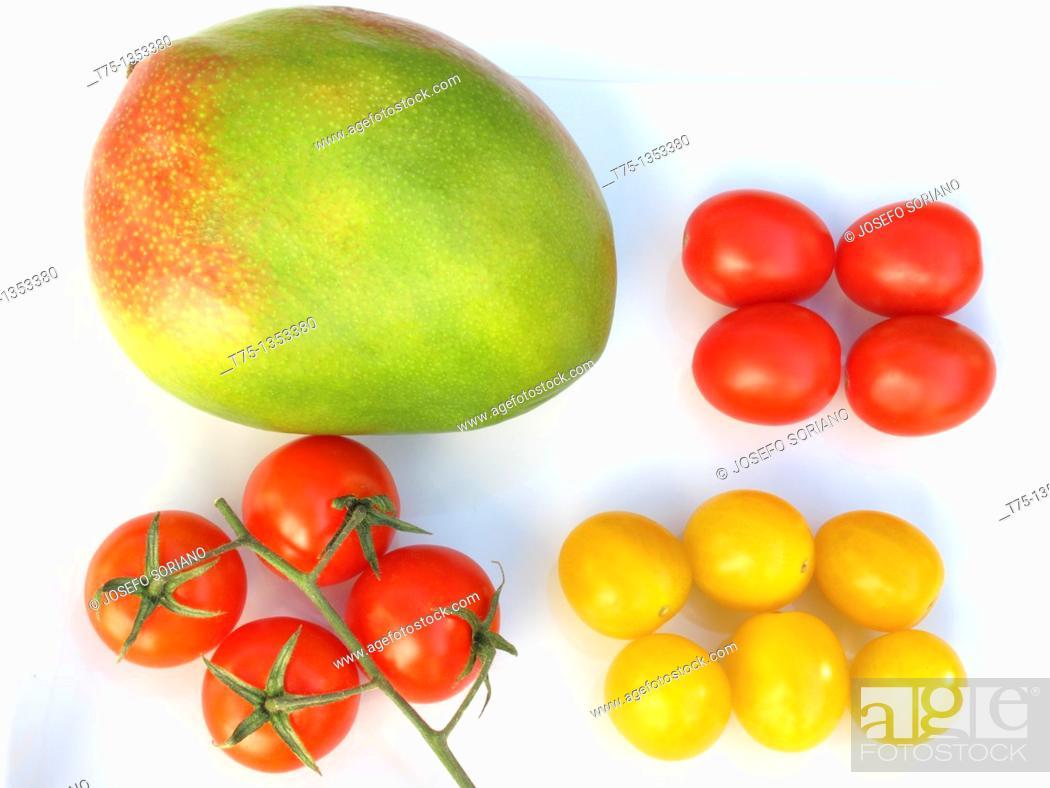 Stock Photo: Salad ingredients.