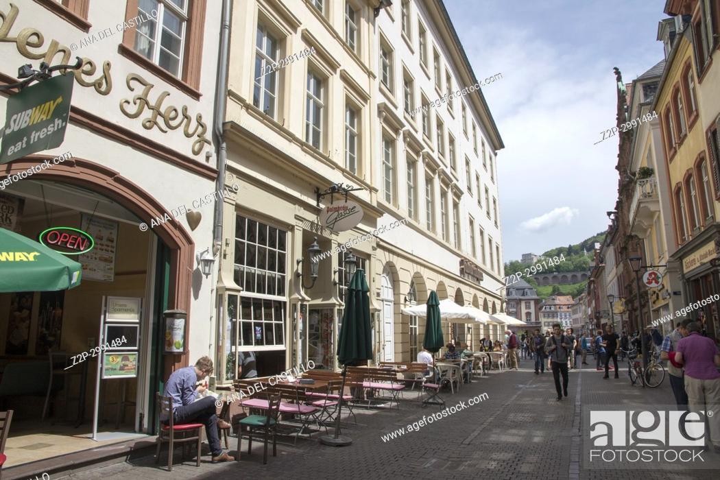Imagen: Heidelberg cityscape in Baden-Wurtemberg Germany.