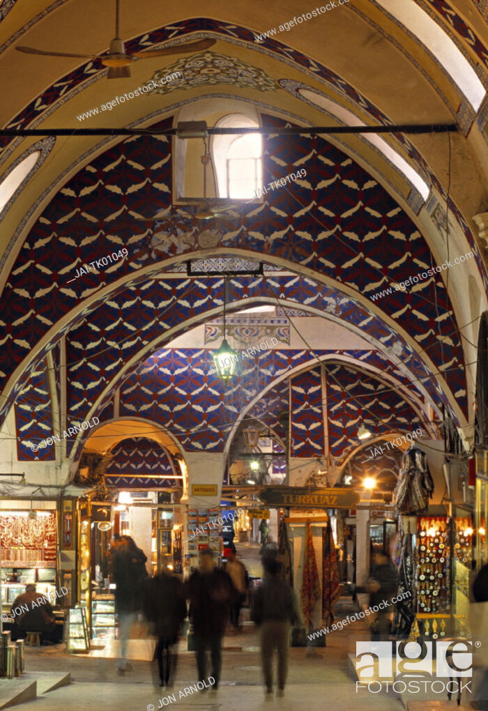 Stock Photo: Grand Bazaar, Istanbul, Turkey.