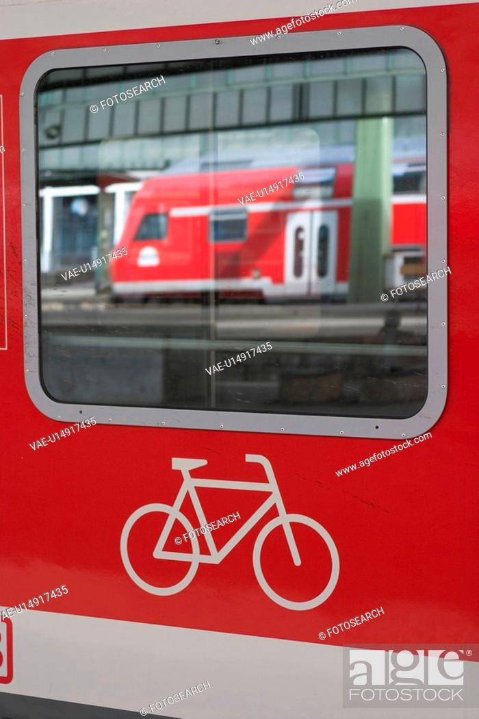 Stock Photo: rail, fast, speed, red, travel, commute.