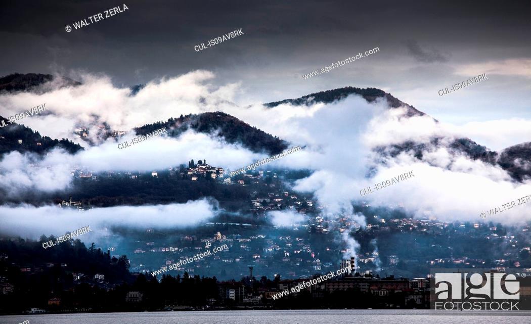 Stock Photo: Verbania, Lake Maggiore, Piedmont, Italy.