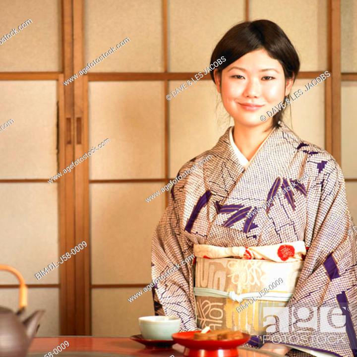 Stock Photo: Asian woman smiling.