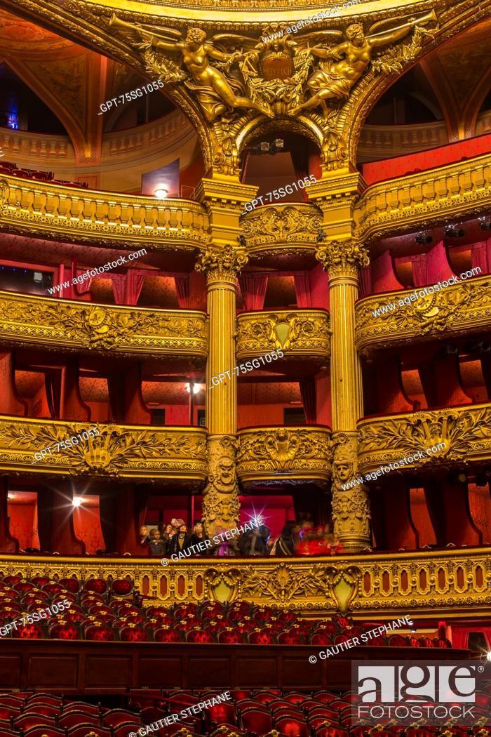 Balcony Seats And Décor In The Opera Garnier Palais Garnier 9th