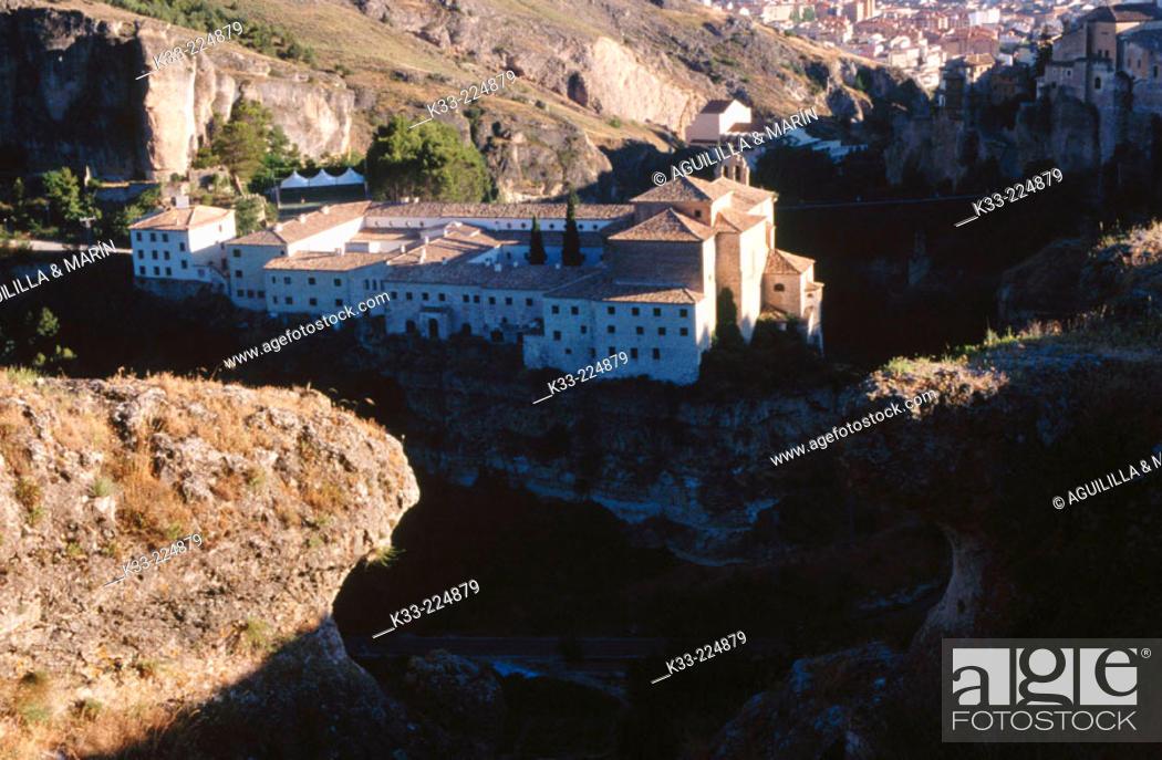 Stock Photo: Parador nacional (state-run hotel). Cuenca. Spain.