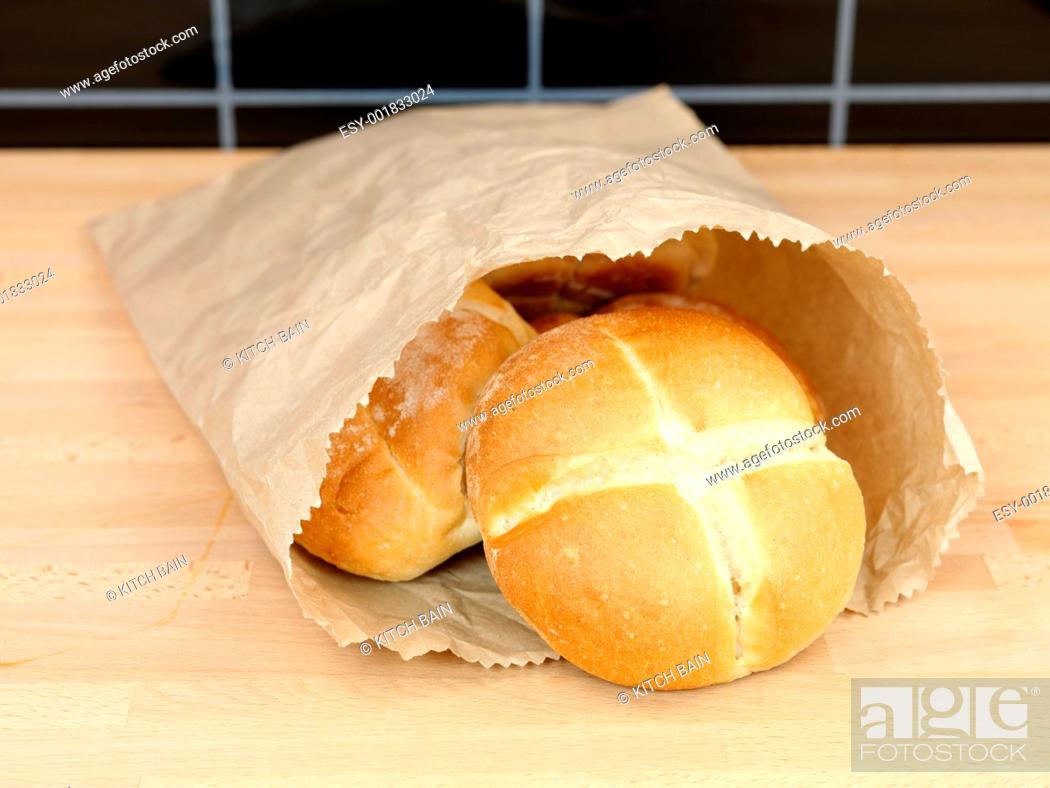 Stock Photo: Fresh Bread Rolls.