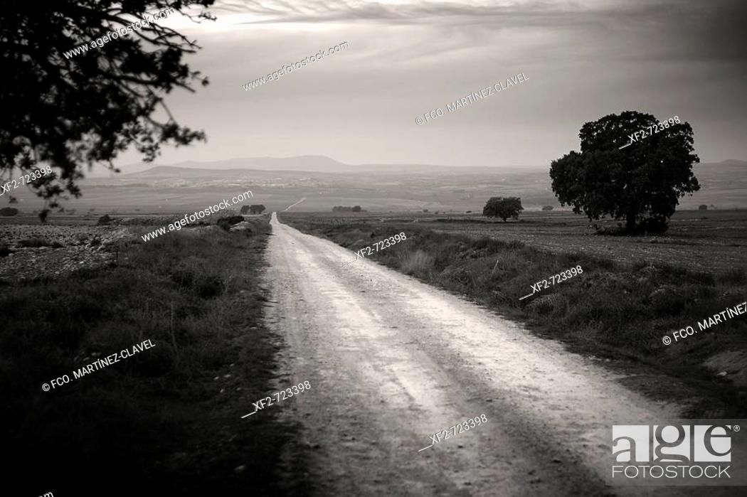 Stock Photo: Road, Spain.