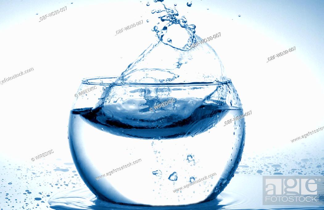 Stock Photo: Liquid, water, aquarium.