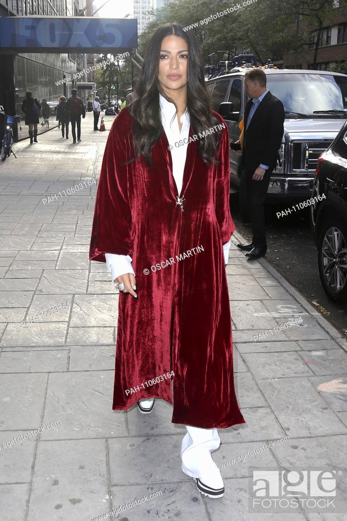 Camila Alves leaving TV station WNYW Fox 5 after her
