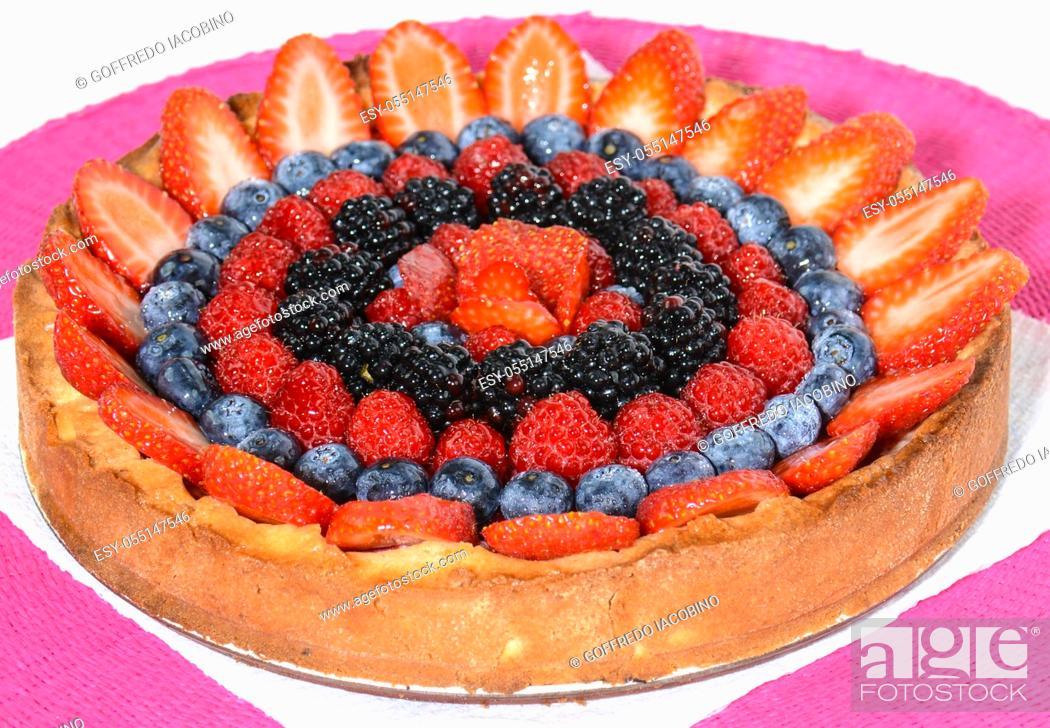 Stock Photo: Original sweet Italian gourmands of fine pastry.