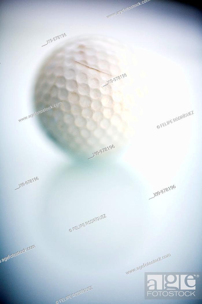 Stock Photo: Golf ball, Seville, Spain.