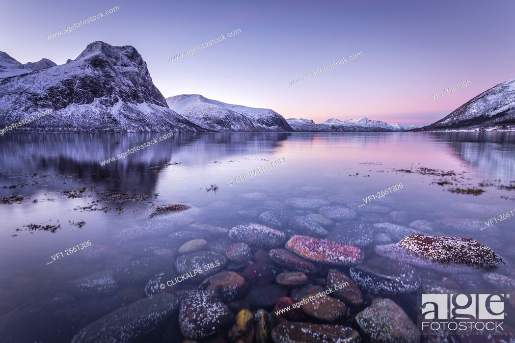 Stock Photo: Bergsbotn, Senja Island, Norway.