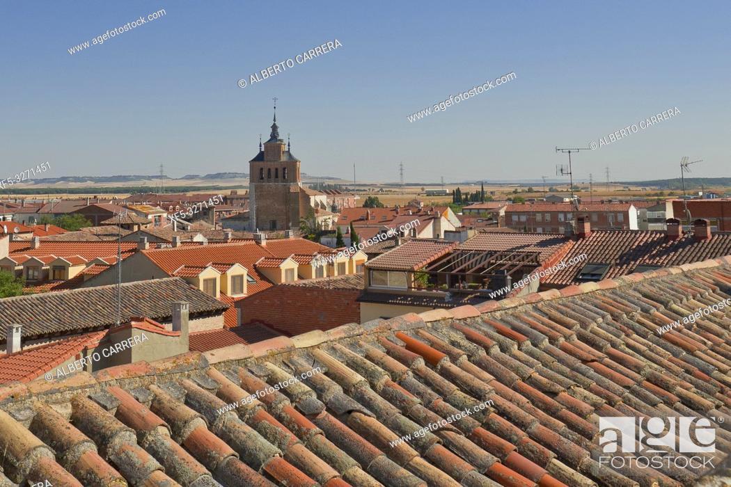 Imagen: Town View, Tordesillas, Valladolid, Castilla y León, Spain, Europe.