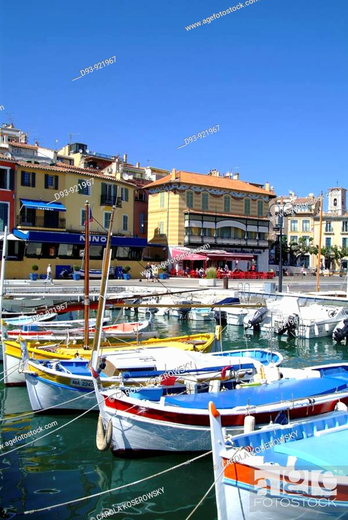Stock Photo: F, France,  Provence, Cassis, Port, Old harbour.
