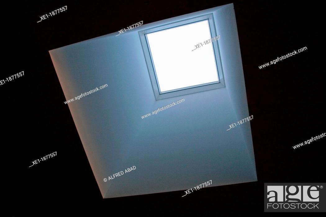 Stock Photo: skylight.