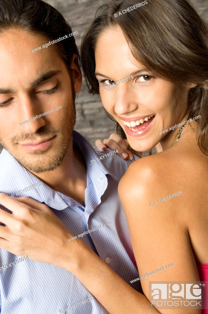 Stock Photo: Close-up of a couple.
