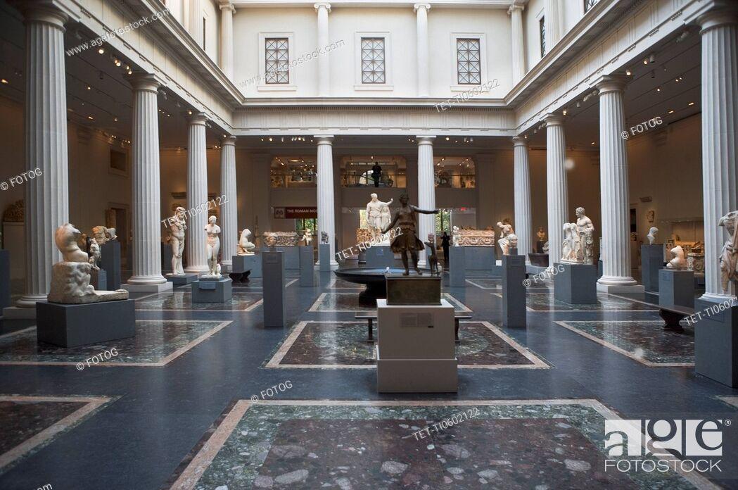 Photo de stock: USA, New York City, Metropolitan Museum.