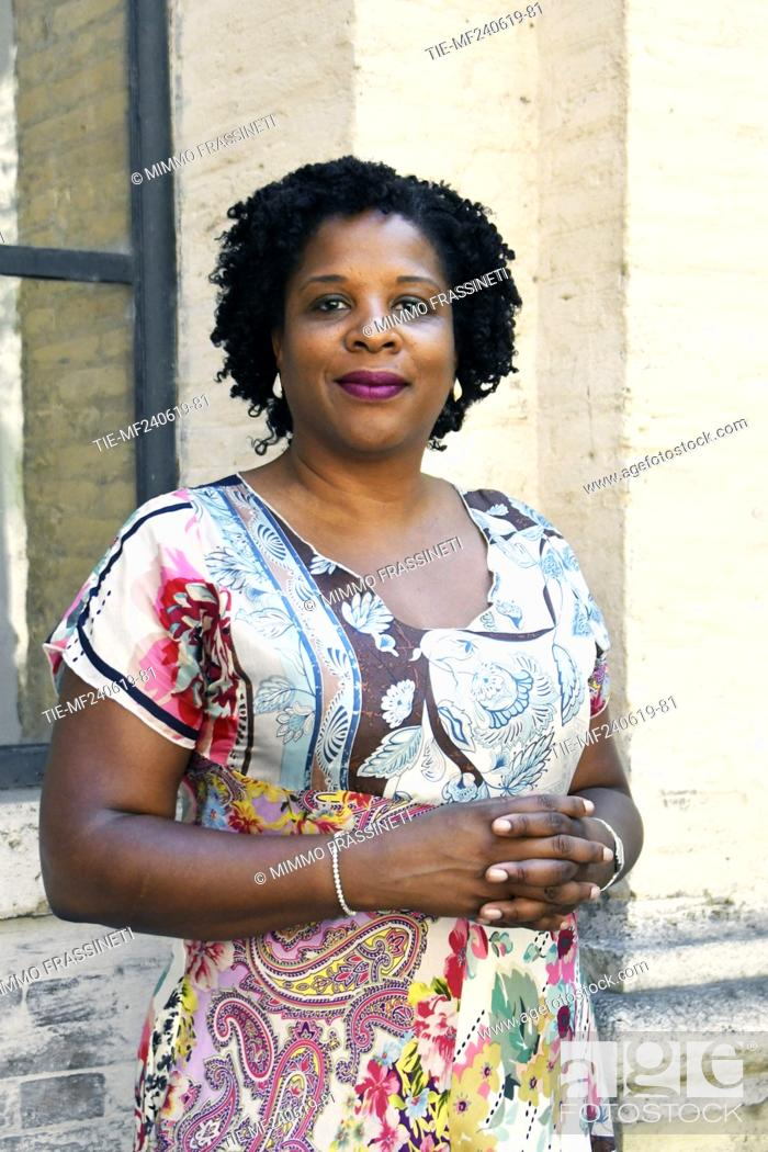 Imagen: The writer Tayari Jones attends at the 18th International Literature Festival, Rome, ITALY-24-06-2019.