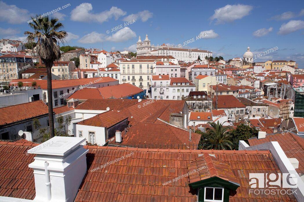 Imagen: Historic city, Lisbon, Portugal.