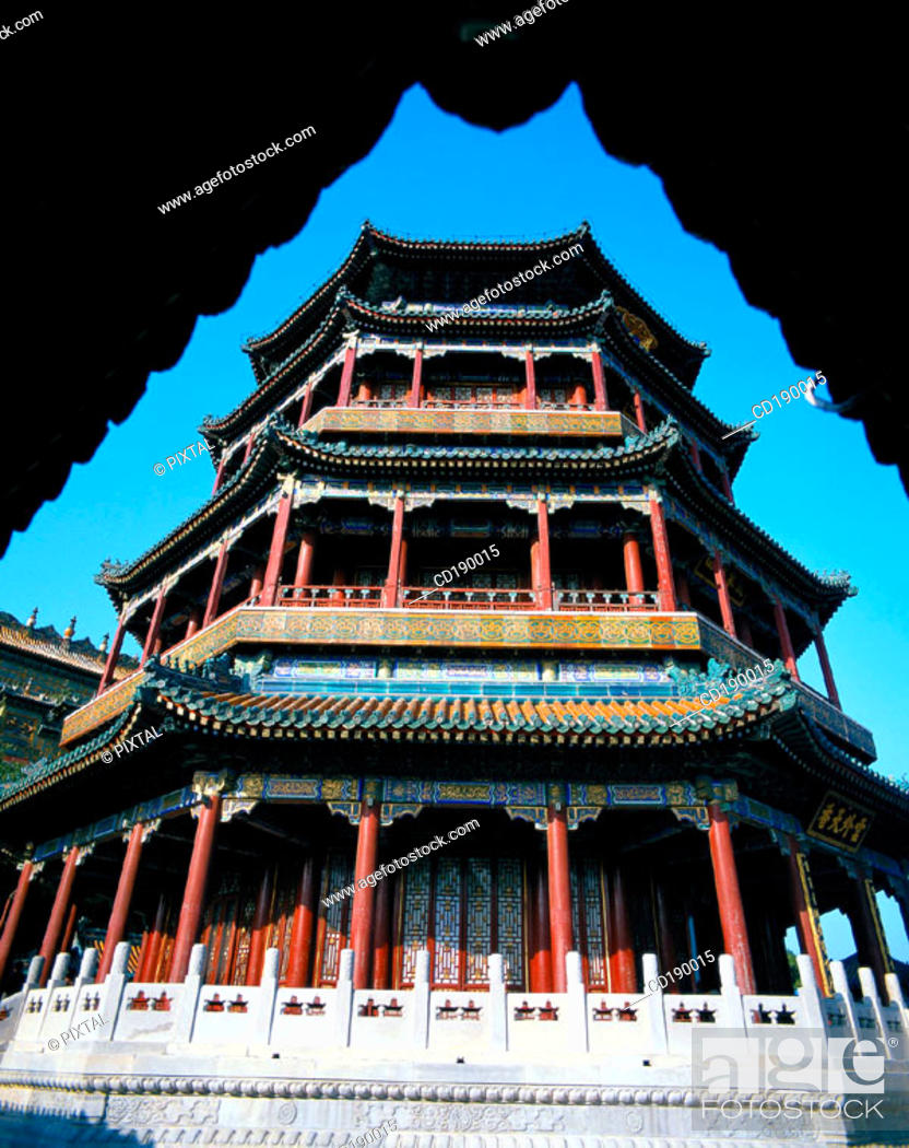 Stock Photo: Summer Palace. Beijing. China.