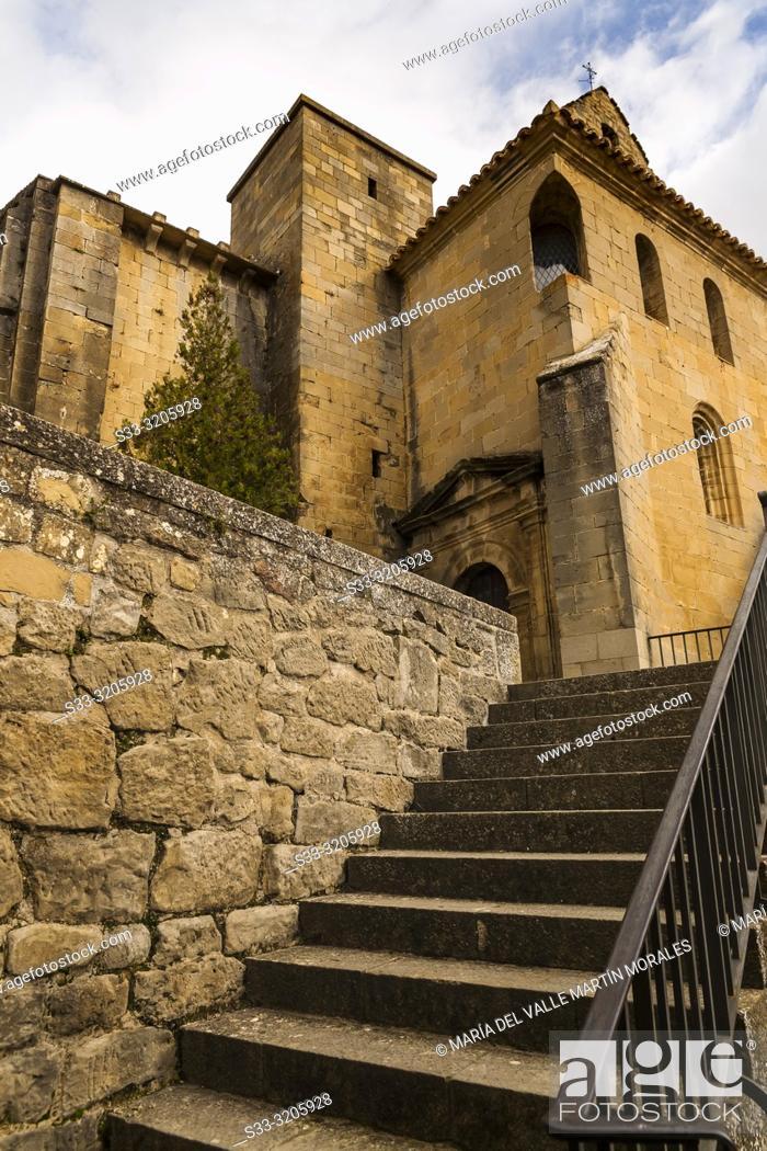 Imagen: St. Esteban in Sos del Rey Catolico. Zaragoza. Aragon. Spain. Europe.