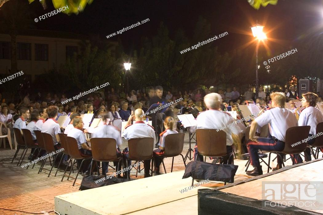 Stock Photo: Classical Concert, Expertise, Conductor, Audience.