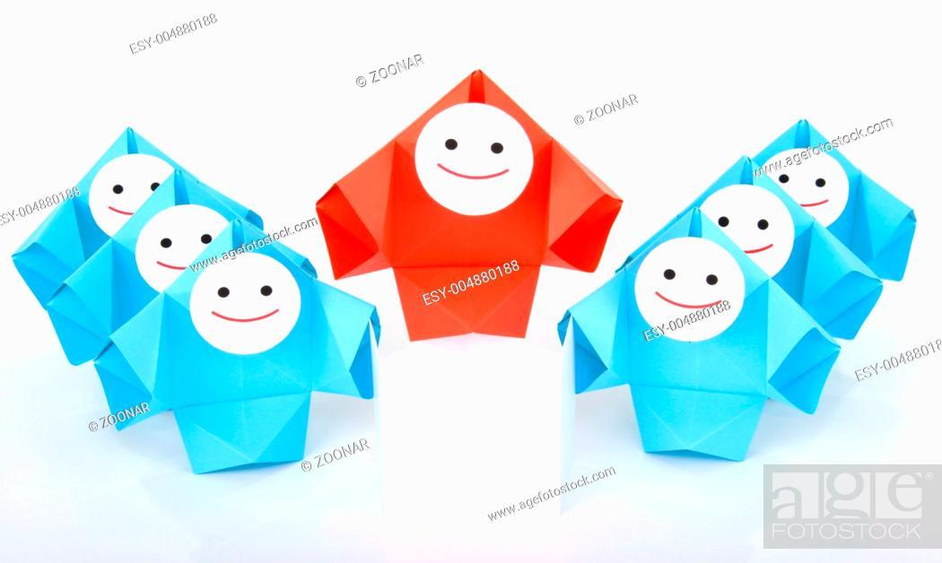 Stock Photo: Teamwork, social interaction and business metaphor.