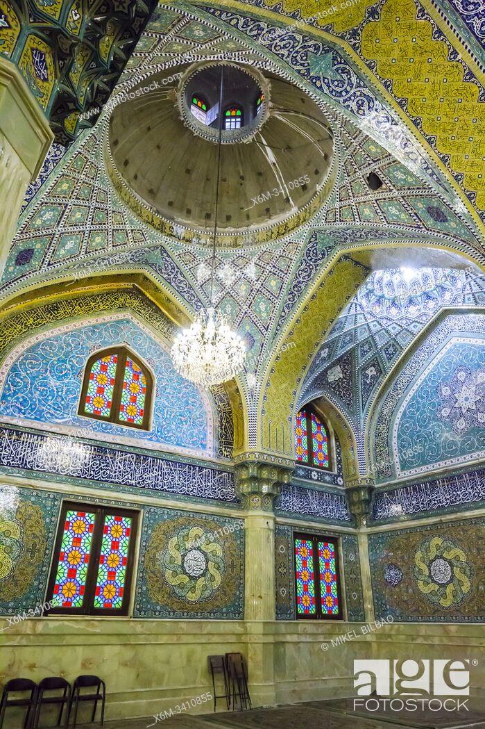Stock Photo: Imam Hasan al-Askari mosque. Qom. Iran, Asia.