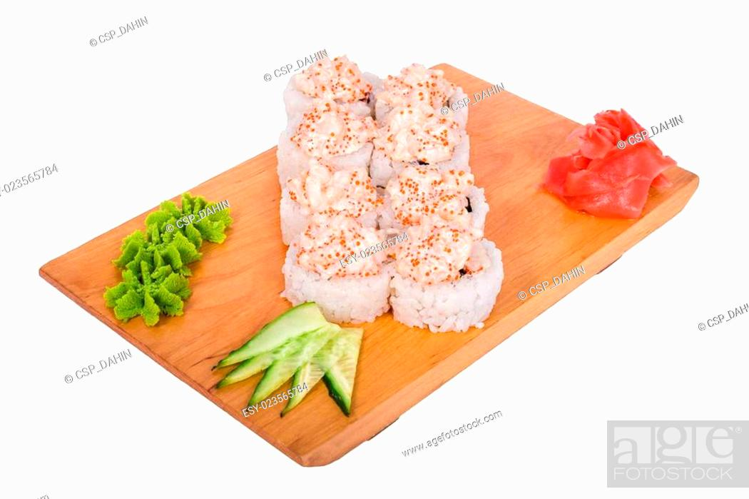 Imagen: composition of sushi: Syake Eby.