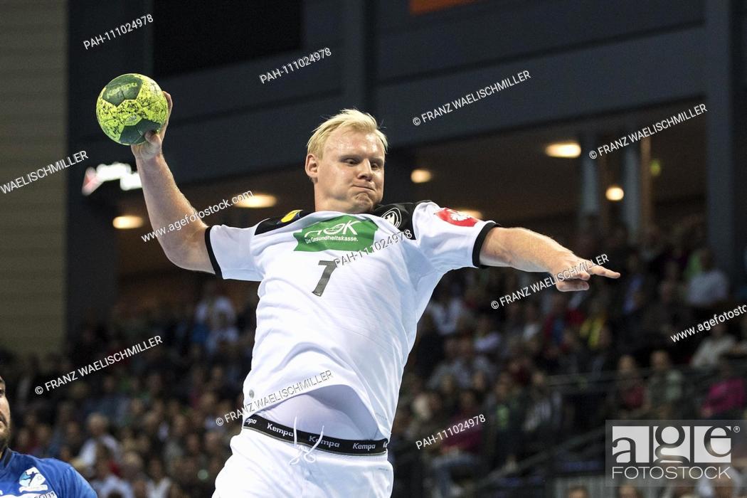 Patrick Wiencek Ger In Action Throw Throwing Handball