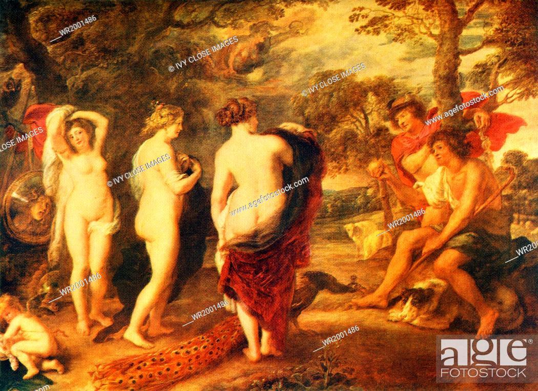 In Greek legend, Paris was a Trojan prince, the son of Priam