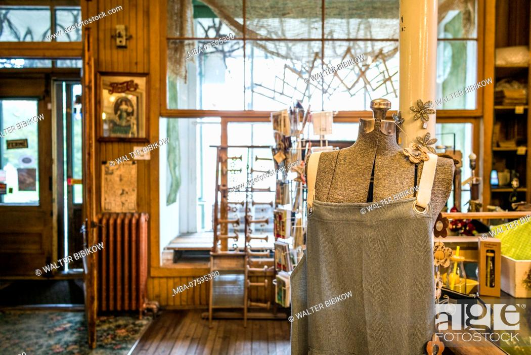 Canada Quebec Mauricie Region Maskinonge Magasin General Le Brun Antique General Store Stock Photo Picture And Rights Managed Image Pic Mba 07595390 Agefotostock
