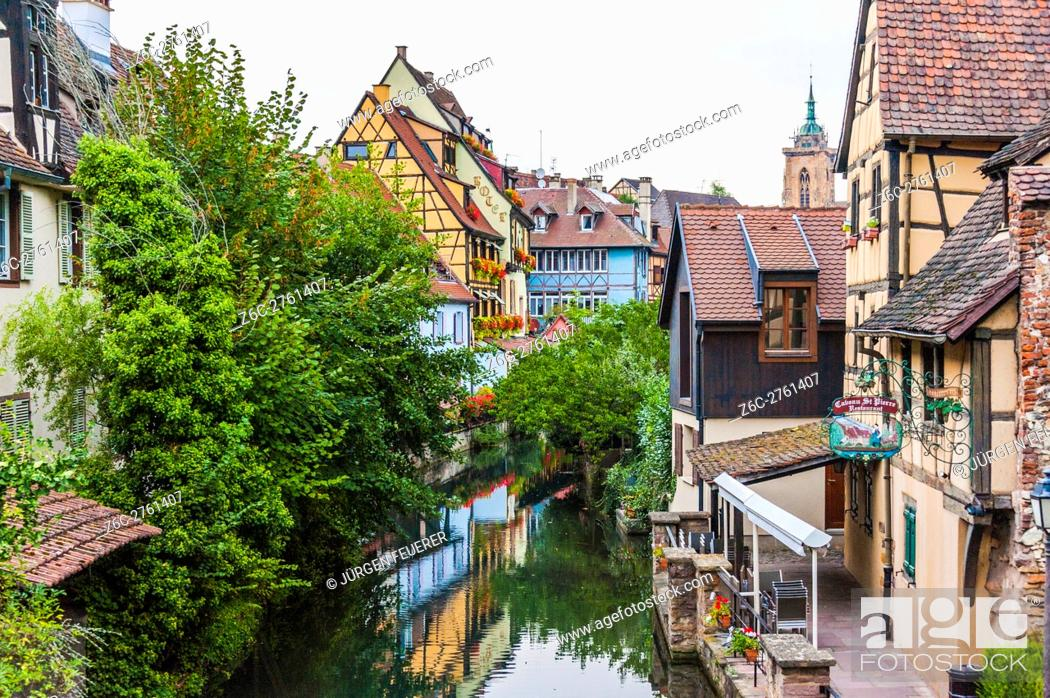 Imagen: Colmar, part of old town called Little Venice, scenic picturesque town, Alsace, France.