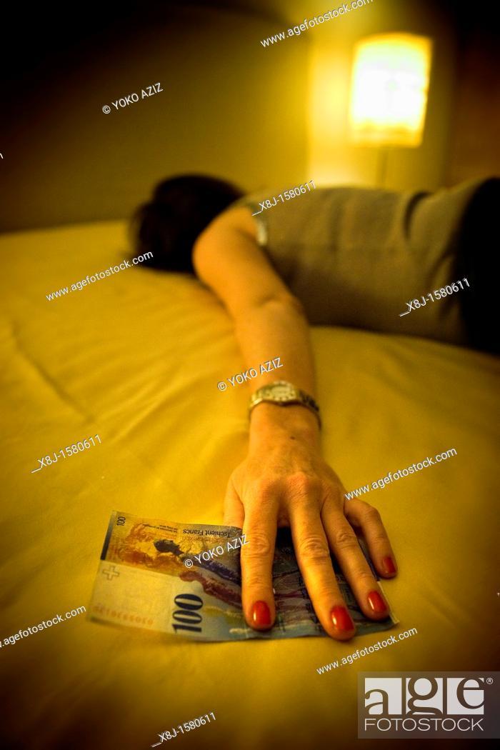 Stock Photo: Prostitution, Canton Ticino, Switzerland.
