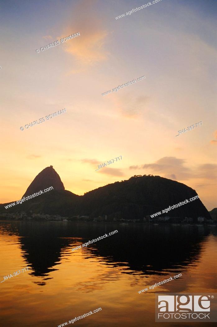 Stock Photo: Sugar Loaf, Rio de Janeiro, Brazil, South America.