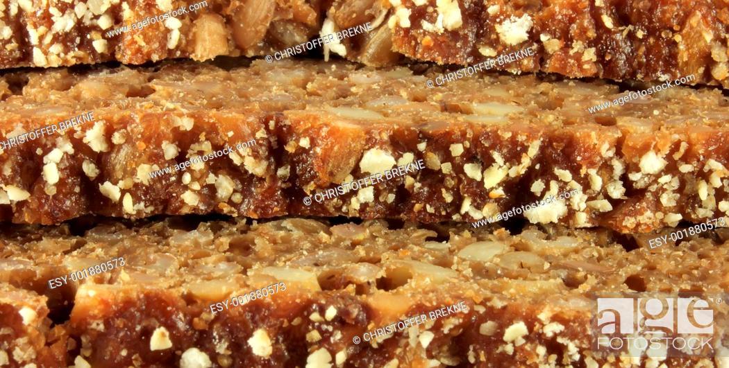 Stock Photo: Rye bread crusts.
