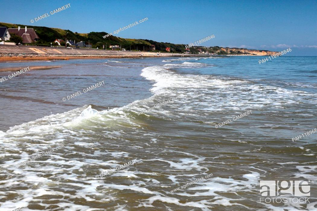 View Of Omaha Beach Usage Worldwide Omaha Beach Normandie Frankreich Stock Photo Picture And Rights Managed Image Pic Pah 118968846 Agefotostock