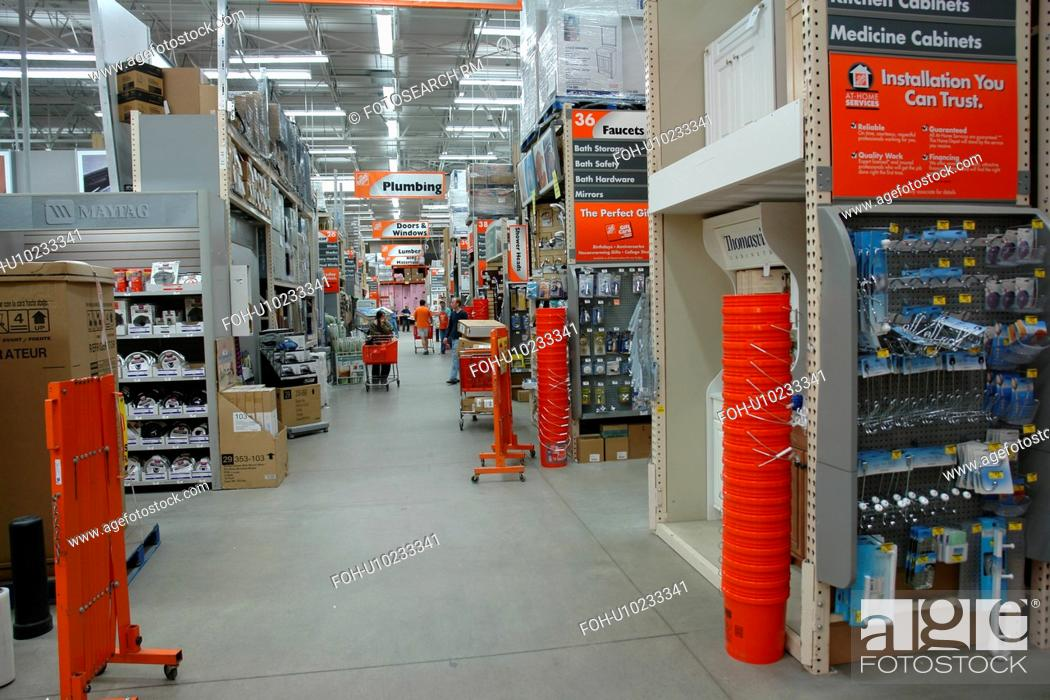 Burlington Vt Vermont The Home Depot Home Improvement Warehouse Stock Photo Picture And Rights Managed Image Pic Foh U10233341 Agefotostock